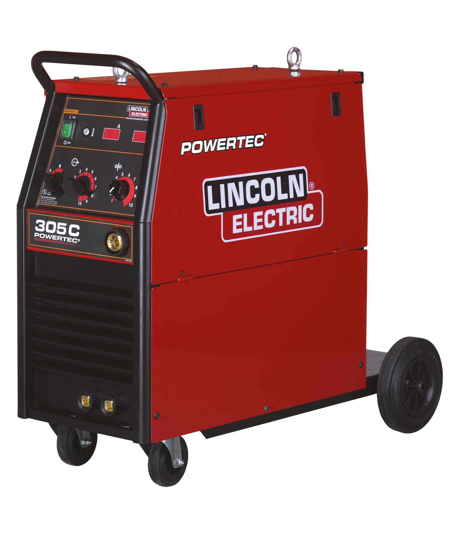 for performance magnum mig lincoln by al operations welding from electric integrating features aluminum pro critical production optimize guns reduce pull push high welder that